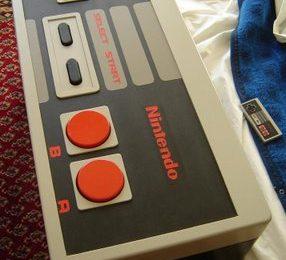 Tavolino fatto a Pad NES