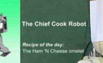 Il Robot che cucina lomelette con il wiimote