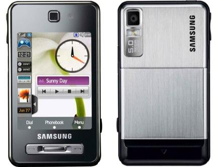 Samsung SGH F480 è pronto