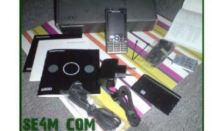Sony Ericsson G900, la scatola d'acquisto