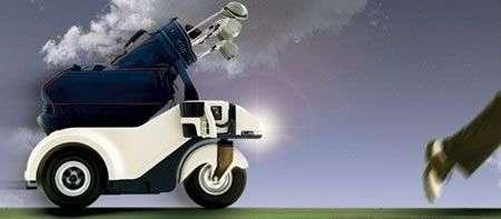 Shadow Caddy, portasacche automatizzato