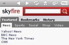 skyfire homepage