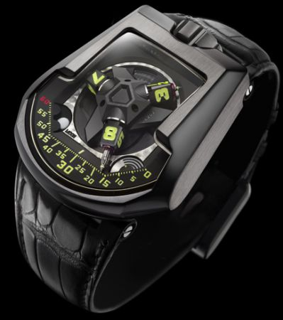 Urwerk UR-202: l'orologio da polso ad aria compressa