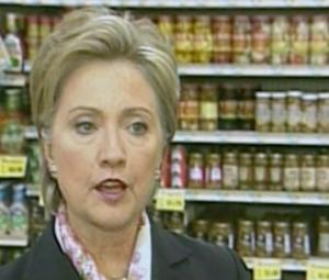 La gaffe di Hillary, video