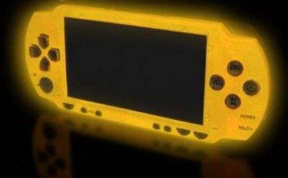 XCM Magic Night Glow: e la PSP diventa fosforescente