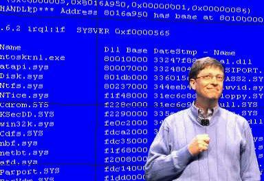 Ricordi di Bill Gates: schermo blu (BSOD) alla presentazione Windows 98 nel 1998