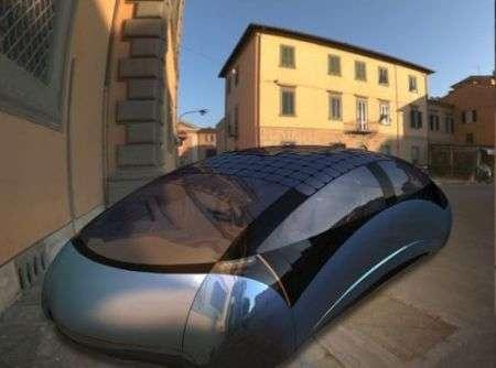 Antro Solo: auto proiettile a energia solare