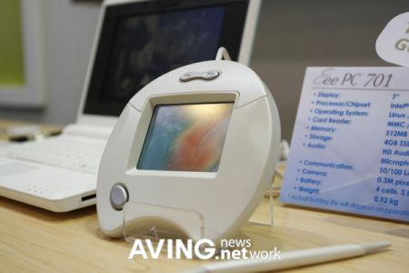 Asus Eee: TouchPad per il riconoscimento della scrittura