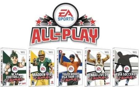 EA All-Play: linea dedicata alla Wii