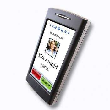 Garmin Nuviphone, video dell'interfaccia