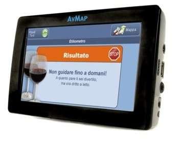 AvMap Geosat 6 Drive Safe con Test Alcolico integrato!
