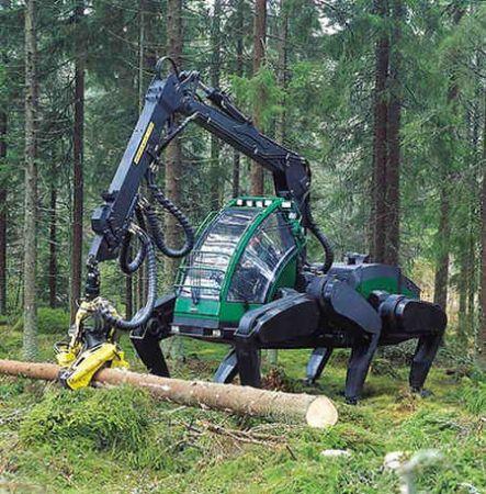 logging spider