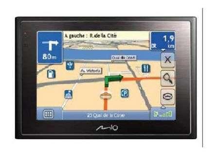 Mio Moov 380 GPS che può anche telefonare