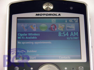 motorola moto q9wifi windows mobile 61