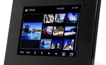 NuTouch Frame: portafoto touchscreen