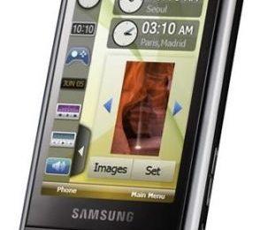 Samsung Omnia i900 video dell'interfaccia TouchWiz