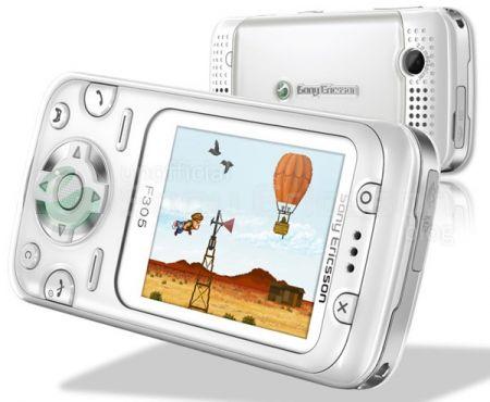 Sony Ericsson F305 ispirato alla Wii