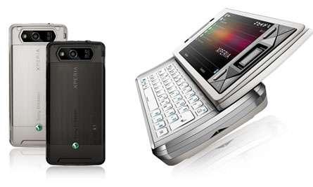 Sony Ericsson X1 Xperia in due colori