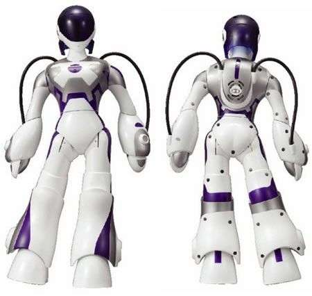 Sega EMA, la Robot che bacia
