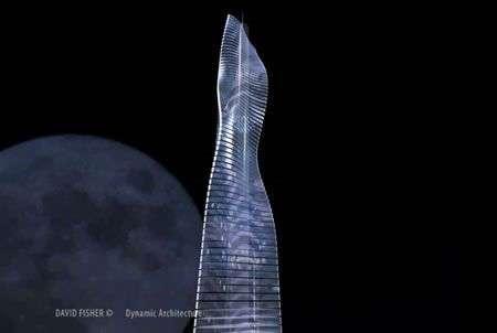 Torre Rotante, inizia la costruzione a Dubai!