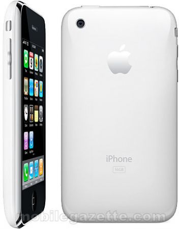 apple iphone 3g white