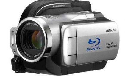 Hitachi DZ-BD10H registra su Blu Ray