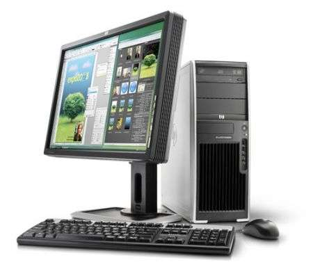 HP xw4550: pc station