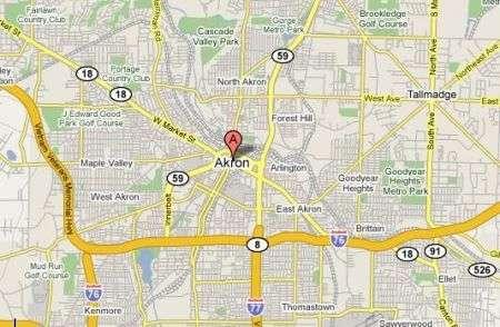 Akron, Ohio: città coperta al 100% da wifi gratuito
