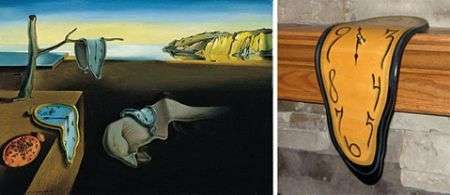 Melting Clock, orologio molle stile Dalì