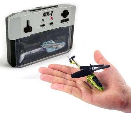 MX-1: il più piccolo elicottero al mondo radiocomandato