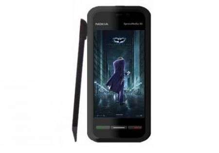 Nokia 5800 Tube nel film Batman The Dark Knight!