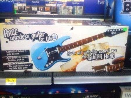 Rage Guitar Hero: chitarra wireless per Wii