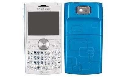 Samsung Blackjack II blu e rosa