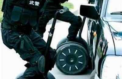 Polizia Cinese sui Segway