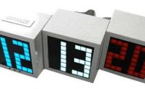 Seiji LED block alarm clock
