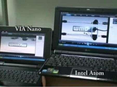 Via Nano versus Intel Atom