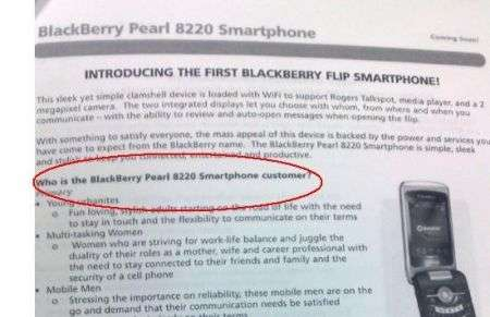 Blackberry 8220 Pearl, nuovo nome di Kickstart