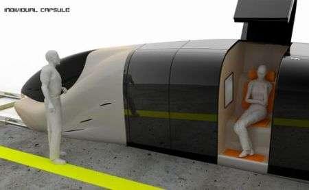 Il treno con posti individuali