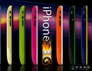 Colorware colora iPhone 3G