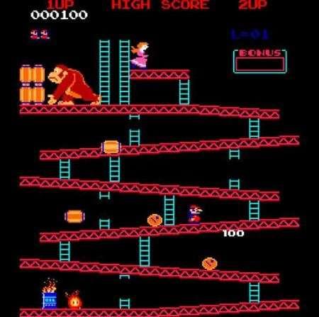 Donkey Kong NES con LEGO!