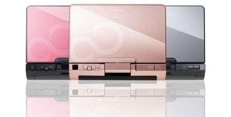 Fujitsu LifeBook U2010 in cinque colori