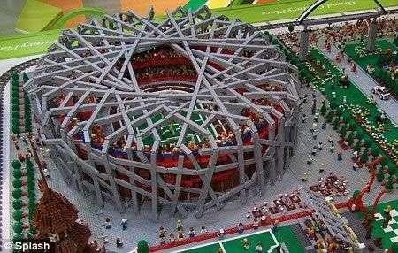Le Olimpiadi di Pechino in Lego