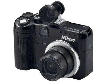 Nikon Coolpix P6000 con GPS