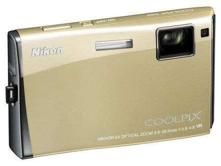 Nikon S60 con touch panel avanzato