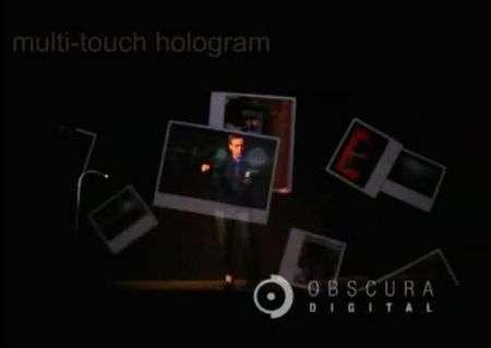 Obscura Digital VisionAire 3D: multitouch ologramma nell'aria