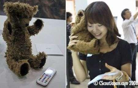 L'orsetto cellulare