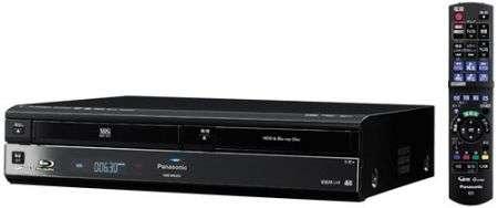 Panasonic DMR-BR360V combo Blu-ray-VHS!
