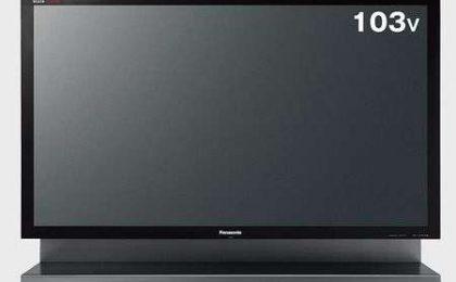 Panasonic Viera TH-103PZ800 ha 103 pollici