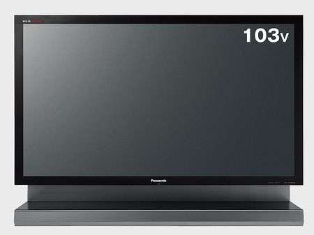 Panasonic Viera TH-103PZ800 ha 103 pollici