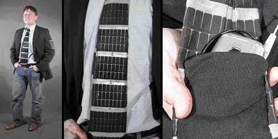 La cravatta fotovoltaica